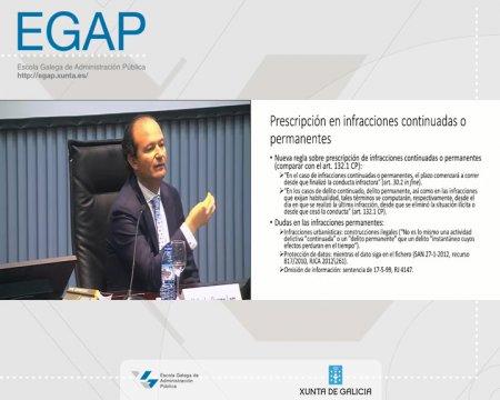 A potestade sancionadora - parte 2 - As Leis 39/2015 e 40/2015 do Procedemento Administrativo Común (LPAC) e do Réxime Xurídico do Sector Público (LRXSP)